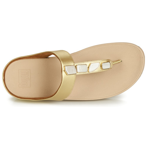 Chanclas Fitflop Zapatos Oro Mujer Fino Shellstone Yb7vf6gy