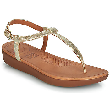 Zapatos Mujer Chanclas FitFlop TIA Oro