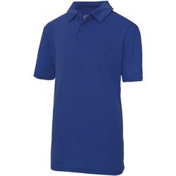 textil Niños Polos manga corta Awdis JC40J Azul