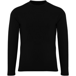 textil Niño Camisetas manga larga Tridri TR16B Negro