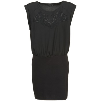 textil Mujer vestidos cortos Vila VIHAMIN Negro