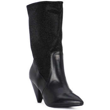 Zapatos Mujer Low boots Juice Shoes TEVERE NERO STRASS NERI Nero