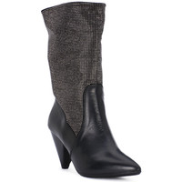 Zapatos Mujer Low boots Juice Shoes TEVERE NERO STRASS CANNA DI FUCILE Grigio