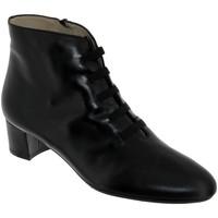 Zapatos Mujer Botines Brenda Zaro F1780 Cuero negro