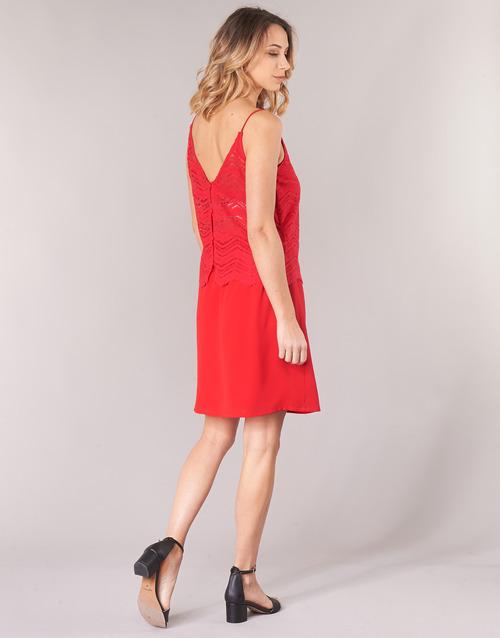 Vestidos London Betty Rojo Cortos Kulia Mujer Textil jLR54A