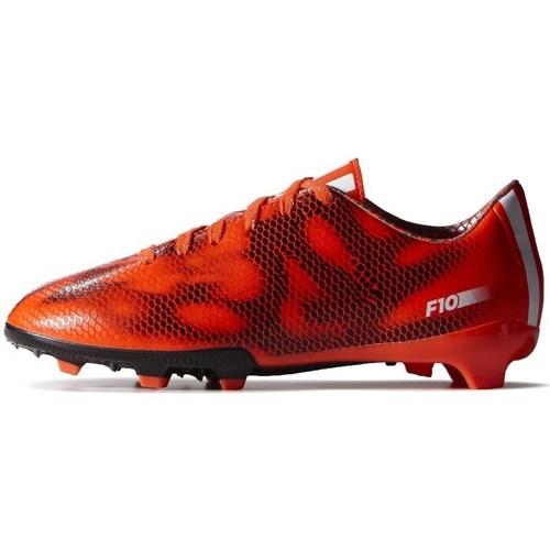 Zapatos Niños Fútbol adidas Originals F10 FG J Negros,De color naranja