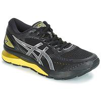 Zapatos Hombre Running / trail Asics GEL-NIMBUS 21 Negro / Amarillo