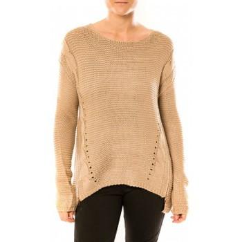 textil Mujer Jerséis By La Vitrine Pull Laetitia MEM K078 Taupe Marrón