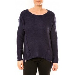 textil Mujer Jerséis By La Vitrine Pull Laetitia MEM K078 Bleu Azul