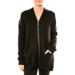 textil Mujer Chaquetas de punto Tcqb Gilet Lely Wood L586 Noir Negro