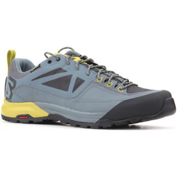 Zapatos Hombre Zapatillas bajas Salomon Trekking shoes  X Alp SPRY GTX 401621 gris, amarillo
