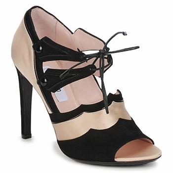 Zapatos Mujer Sandalias Moschino MA1601 Raso nude cane