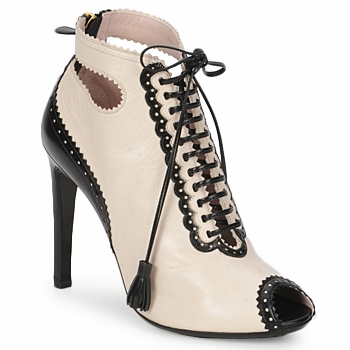 Zapatos Mujer Low boots Moschino MA1602A Beige