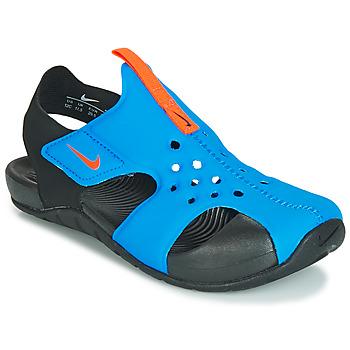 Zapatos Niños Sandalias Nike SUNRAY PROTECT 2 PS Negro / Azul