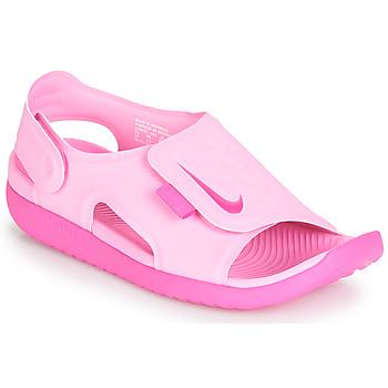 Zapatos Niña Sandalias Nike SUNRAY ADJUST 5 Rosa