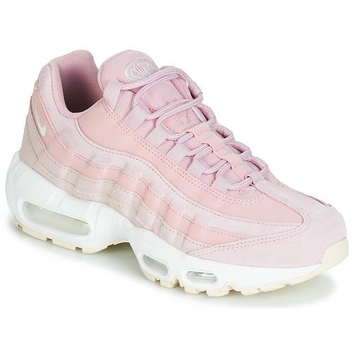 Zapatos Mujer Zapatillas bajas Nike AIR MAX 95 PREMIUM W Rosa