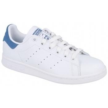 Zapatos Mujer Multideporte adidas Originals STAN SMITH FTWR   TRACE ROYAL S18 blanco