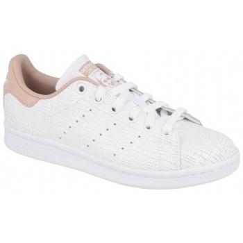 Zapatos Mujer Multideporte adidas Originals STAN SMITH FTWR   ASH PEARL beige